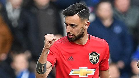 M.U thắng derby Manchester nhờ Bruno Fernandes có 'phép thuật'