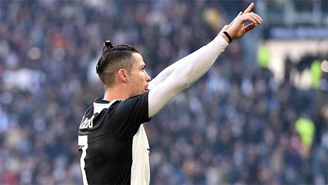Ronaldo chạm cột mốc lịch sử sau trận Juve hạ Inter ở derby Italia