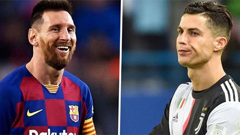 Barca 'đá đểu' Ronaldo trong ngày CR7 bị Messi qua mặt