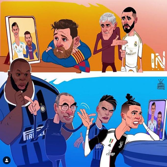 Messi và Ronaldo đều đang nhớ nhau
