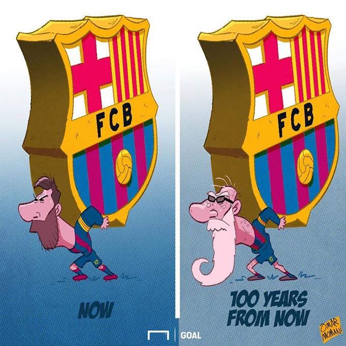 Đến bao giờ, Messi mới thôi phải gánh Barca?