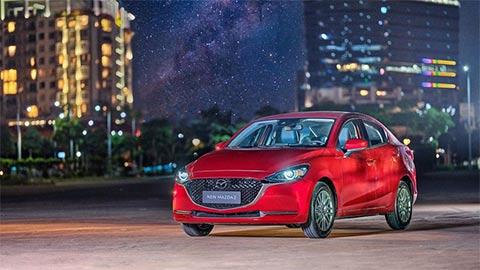 Mazda 2 2020 ra mắt tại VN, giá từ 509 triệu 'đấu' Hyundai Accent, Toyota Vios