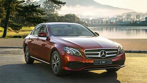 Mercedes-Benz E 180 đẹp long lanh ra mắt tại VN với giá 2,05 tỷ đồng