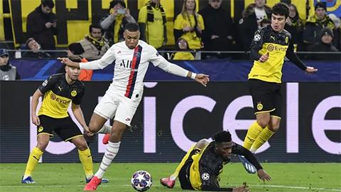 PSG mất lợi thế sân nhà ở trận tử chiến với Dortmund