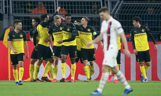 PSG vô địch Ligue 1 thường xuyên đã thua trước một Dortmund hay về nhì tại Bundesliga