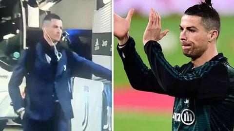 Ronaldo phải giao lưu với fan tưởng tượng vì Covid-19
