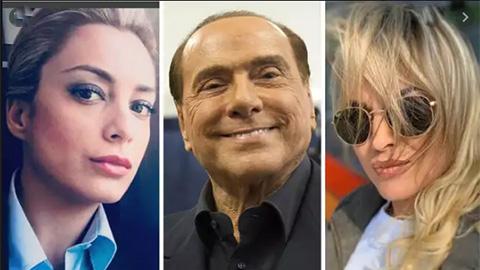 Silvio Berlusconi ở tuổi 83 vẫn khiến giới trẻ nể phục khi tán đổ gái 9x