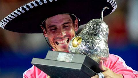 Nadal vô địch Acapulco 2020, vẫn kém xa kỷ lục của Federer
