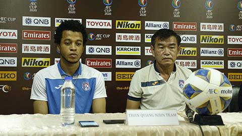 AFC Cup: Than Quảng Ninh thận trọng trước đội bóng của Campuchia