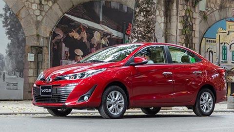 "Toyota Vios, Wigo, Honda Brio, Mitsubishi Attrage đồng loạt giảm giá ""sốc"" tại VN"