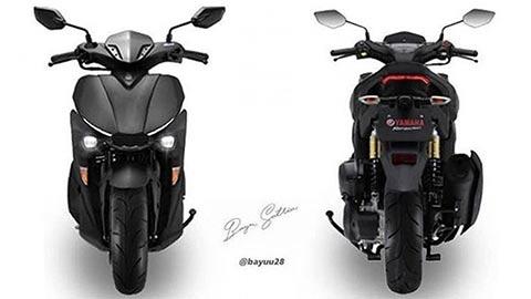 Yamaha NVX 155 2020 sẽ có nhiều nâng cấp mới, đối đầu Honda Air Blade