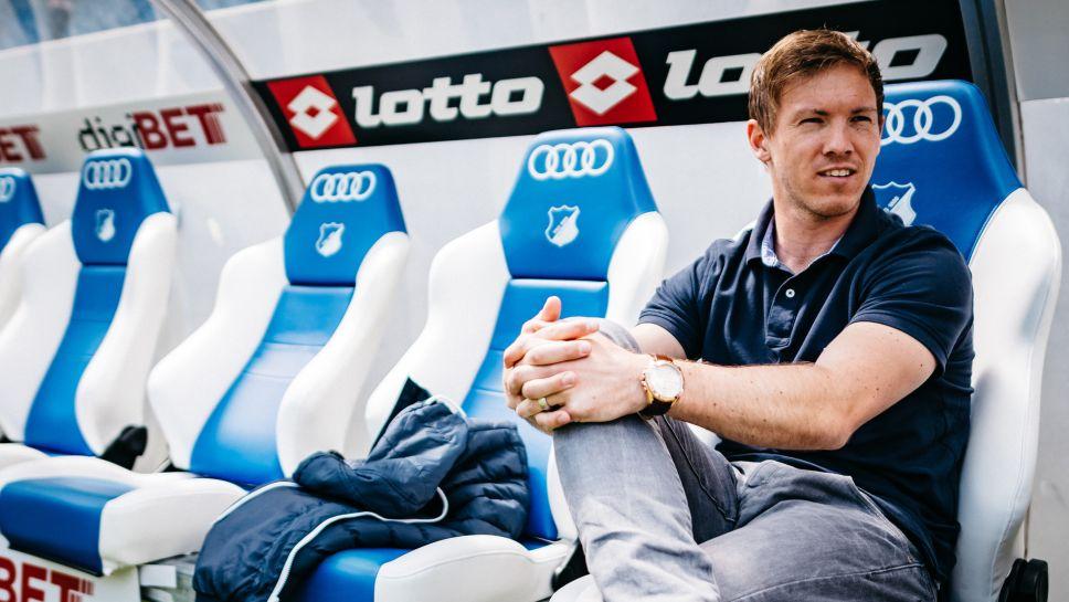 Chưa đầy 30 tuổi, Nagelsmann đã trở thành HLV của Hoffenheim thi đấu tại Bundesliga