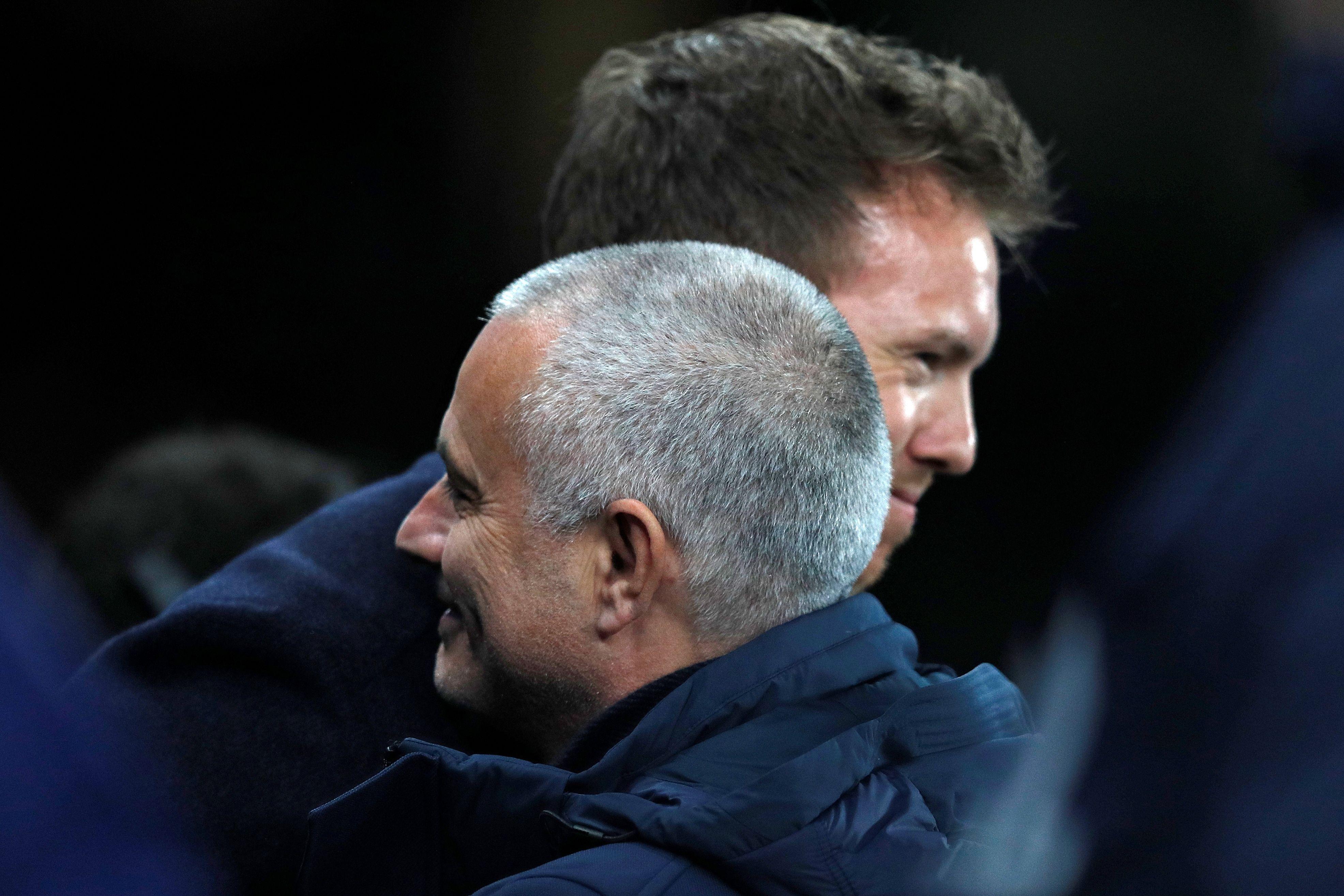 Thế nhưng, ông đã đánh bại Tottenham của Mourinho tại lượt đi vòng knock-out Champions League