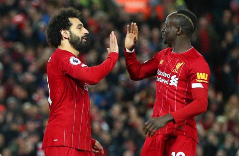Salah và Mane được cho là vẫn đang vui vẻ với nhau