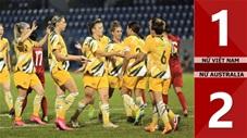 ĐT nữ Việt Nam 1-2 ĐT nữ Australia(Play off VL World Cup BĐ Nữ Châu Á)