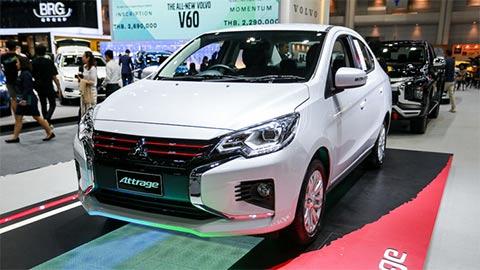 Mitsubishi Attrage 2020 đẹp mê ly, giá rẻ sắp về VN 'đe' Toyota Vios, Honda City