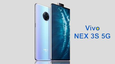 Vivo NEX 3S 5G ra mắt với Snap 865, 12GB RAM, camera 64MP, giá rẻ bất ngờ