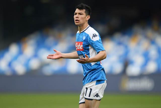 Napoli bây giờ cũng không muốn giữ Lozano