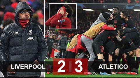 Liverpool 2-3 Atletico Madrid: Ngược dòng ngoạn mục, Atletico biến Liverpool thành cựu vương