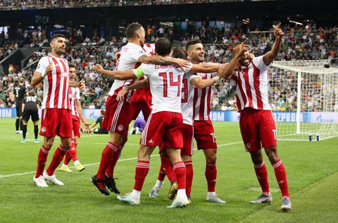 Đà hưng phấn ở đấu trường châu Âu sẽ giúp Olympiakos thắng đối thủ khó nhằn Wolves
