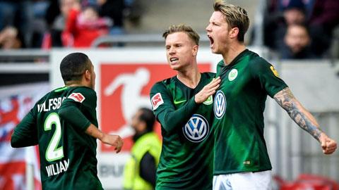 Wolfsburg đang có phong độ cực cao khi bất bại cả 8 trận gần nhất
