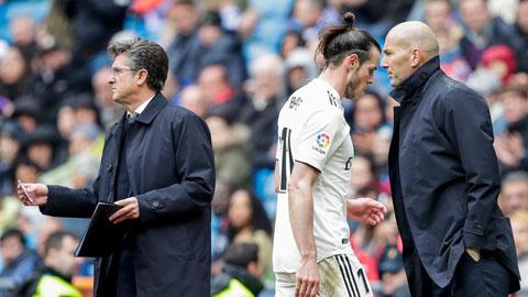 Zidane đã xoay tua dùng Bale nhưng không có được kết quả như mong muốn