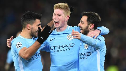 Liverpool bị loại, Man City trở thành ứng viên số một ở Champions League