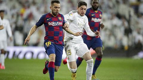 Valverde thi đấu ngày càng trưởng thành trong màu áo Real