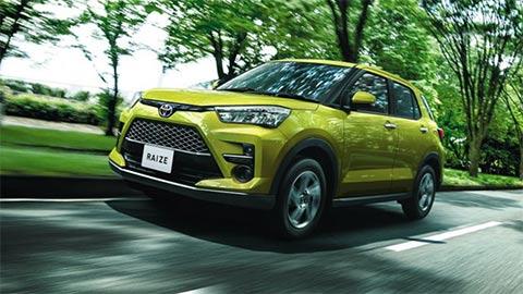 Toyota Raize giá từ 367 đồng, gây sốt mạnh