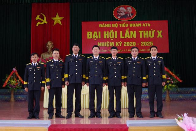 Ban Chấp hành Đảng bộ Tiểu đoàn 474 ra mắt đại hội