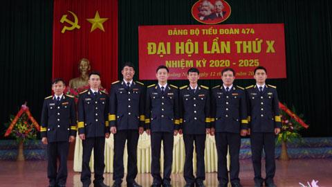 Phòng Hậu cần và Tiểu đoàn 474, Lữ đoàn 147 Hải quân tổ chức Đại hội Đảng bộ nhiệm kỳ 2020-2025