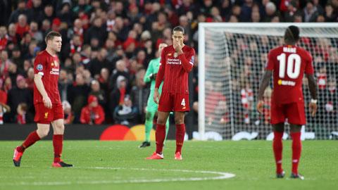 Liverpool bị loại sớm ở Champions League: Màn thoái vị bi tráng