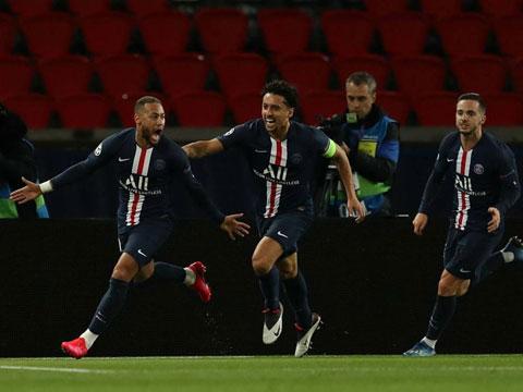 PSG đã có trận đấu gần như hoàn hảo khi tiếp Dortmund ở lượt về vòng 1/8