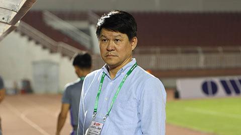 Chủ tịch CLB Sài Gòn thay Hoàng Văn Phúc làm HLV trưởng
