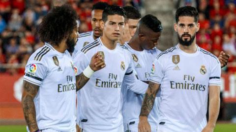 Perez muốn thu về 250 triệu euro tiền thanh lý cầu thủ Real
