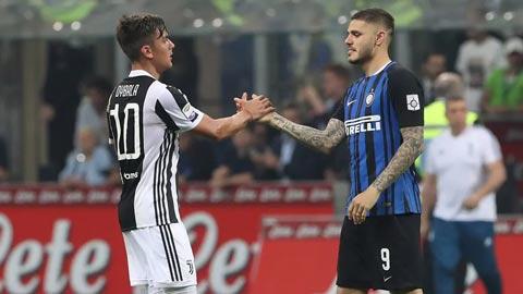 Juventus tính đổi Dybala lấy sao nổi loạn của Inter Milan