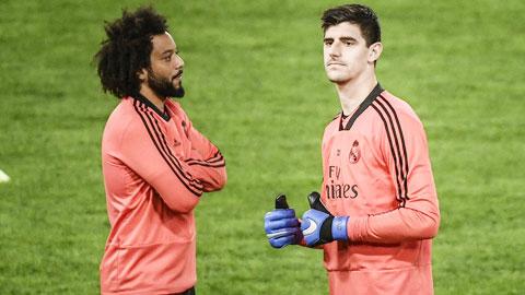 Real Madrid: Marcelo và Courtois kịp trở lại nhờ… Covid-19