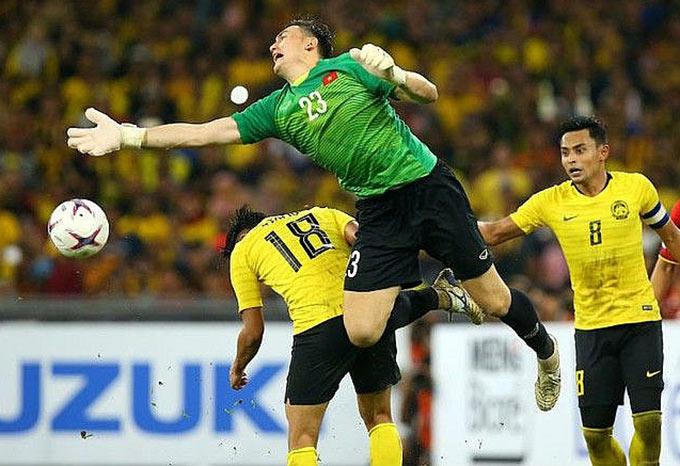 Văn Lâm, thủ môn số 1 của ĐT Việt Nam đang gặp khó khăn ở Muangthong United