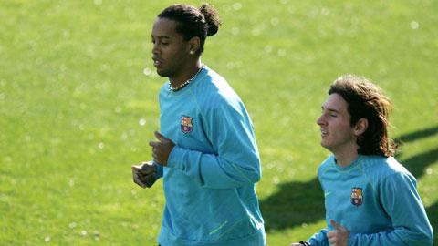 Messi chi 4 triệu euro cứu Ronaldinho là tin giả từ Peru