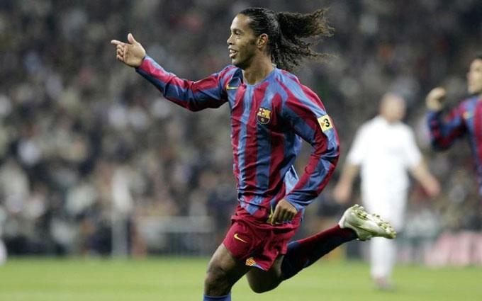 Ronaldinho là thiên tài sân cỏ