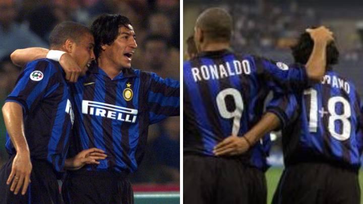 Đến đàn anh mê số 9 như Zamorano cũng phải nhường Ronaldo Béo số 9