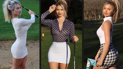 Lucy Robson: Nữ golf thủ xinh đẹp sở hữu 3 vòng như người mẫu