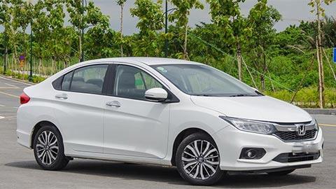 Honda City giảm giá 'kịch sàn', đấu Toyota Vios, Hyundai Accent, Kia Soluto