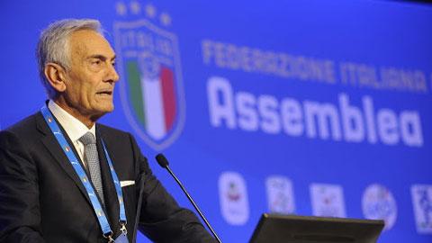 Chủ tịch LĐBĐ Italia đề nghị hoãn EURO 2020