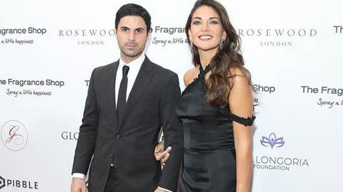 Vợ Arteta chia sẻ tình trạng sức khỏe của ông chồng dính COVID-19