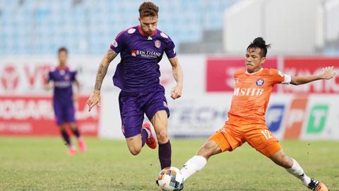 Sài Gòn FC chiến đấu vì nồi cơm