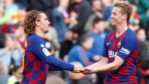 Chỉ 2 ngôi sao của Barca miễn nhiễm với chấn thương từ đầu mùa