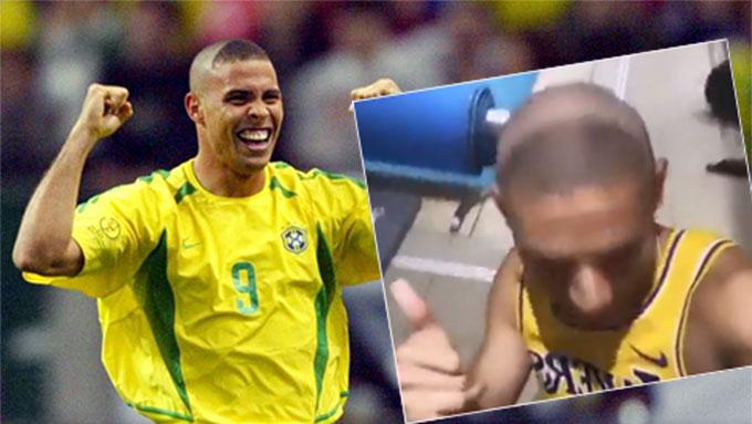 """Richarlison tái hiện kiểu đầu của Ronaldo """"béo"""""""