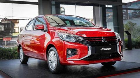 """Mitsubishi Attrage 2020 ra mắt tại VN, giá từ 375 triệu """"đấu"""" Honda City, Hyundai Accent, Kia Soluto"""