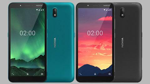 Nokia C2 giá rẻ chạy Android Go ra mắt với pin 2800mAh
